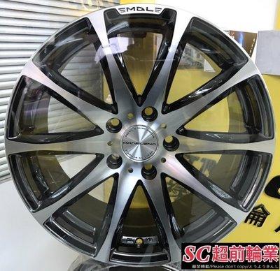 編號(37) 正日本 VENERDI MADELENA MODA 19吋鋁圈 5孔114.3 5孔100 特價 7500