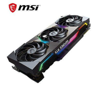 電腦配件顯卡微星(MSI)GeForce RTX 3090超龍 超旗艦 獨立顯卡 SUPRIM X 24G