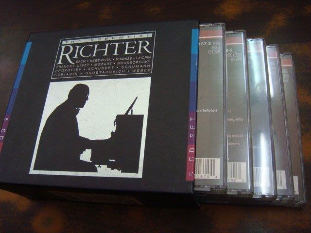 好音悅 半銀圈 Richter 李希特 世紀巨匠 李希特 典藏決定盤 5CD Philips 德PMDC01版付中文小冊