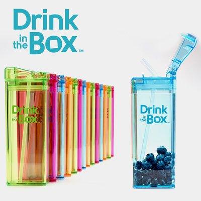Drink in the box 加拿大 水杯 水壺 幼兒吸管水杯 / 水壺 355ml -多款任選