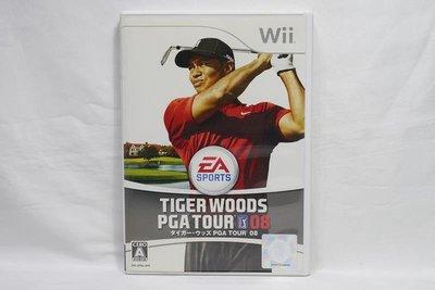 日版 Wii 老虎伍茲 08 Tiger Woods PGA Tour 2008