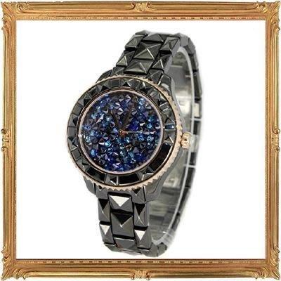 手錶鑲鑽錶-時尚經典奢華女腕錶3色5j57【瑞士進口】【巴黎精品】
