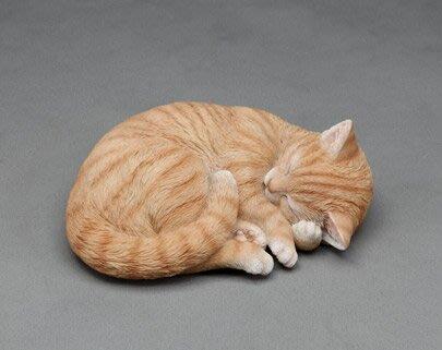 《齊洛瓦鄉村風雜貨》日本zakka雜貨 貓咪系列擺飾  貓咪窩著睡覺 可愛小貓咪裝飾 居家佈置 店家擺飾