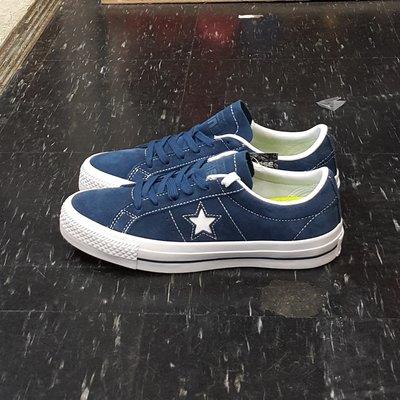 Converse One Star Pro 藍色 深藍色 麂皮 基本 LUNARLON 鞋墊 附白色鞋帶 149867C 台北市
