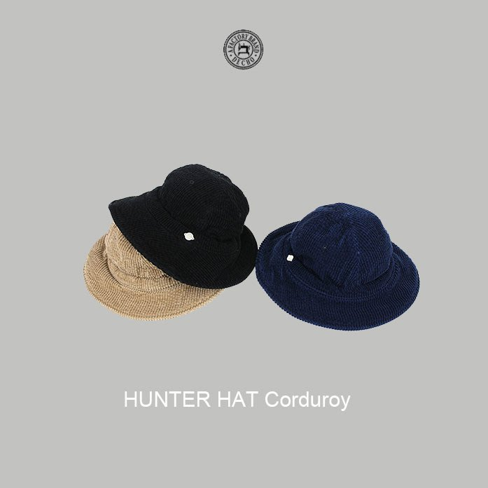WaShiDa【d-EN03】DECHO 日本品牌 日本製HUNTER HAT -Corduroy-漁夫帽 - 預訂