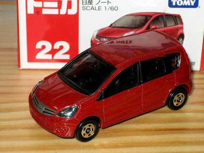 TOMICA (CITY) No.22 NISSAN NOTE