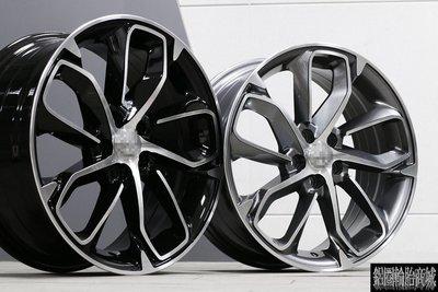 【CS-6574】全新鋁圈 類 原廠 紐柏林特仕版 ALTIS 17吋鋁圈 黑/灰 底車面 5孔100 5孔114.3