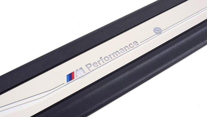 【樂駒】BMW 原廠 X4 F26 LED M Performance 發光 迎賓踏板 車門 門檻 加裝 車室 改裝