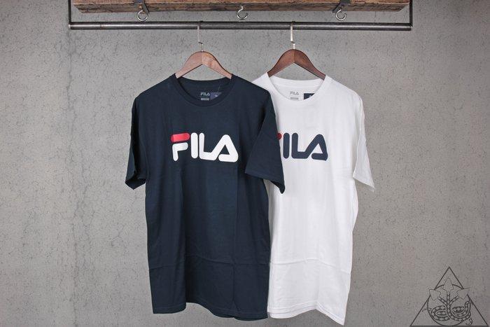 【HYDRA】Fila Classic Logo Tee 素面 經典 文字 短T【LM153RW5】