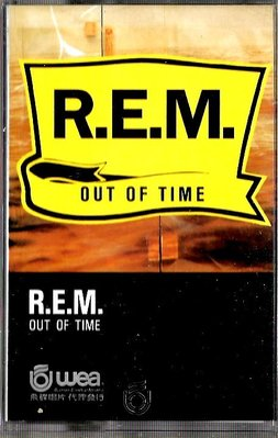 R.E.M / Out Of Time(原版錄音卡帶.附:歌詞本)