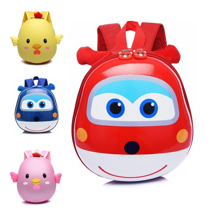 【溜。溜。選物】超萌包*可爱蛋殼包小雞幼兒園兒童後背包