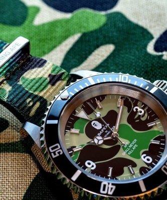 【日貨代購CITY】 A BATHING APE ABC NATO BELT TYPE 1 BAPEX 手錶 現貨
