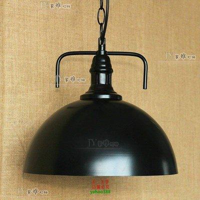 {美學}美式倉庫樓梯後現代風 工業重金屬燈罩 工礦倉庫廚房餐桌美式吊燈MX_522