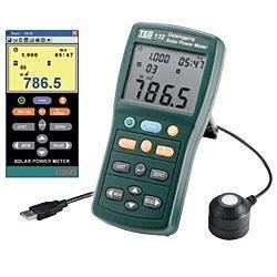 【電子超商】泰仕 TES-132 太陽能功率錶 (記錄型)