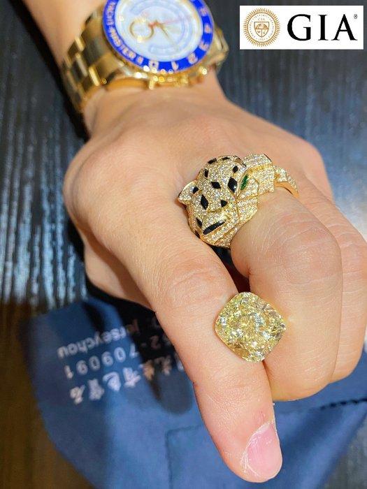 【台北周先生】天然Fancy綠色鑽石 巨大14克拉 VVS2 火光爆閃 Even 送GIA證書