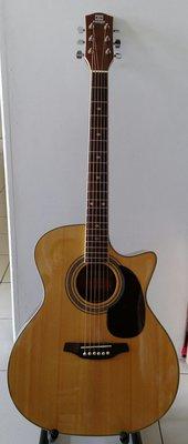 162 高級民謠木吉他  ( 名琴 : RANGE ) ( 41 吋 )