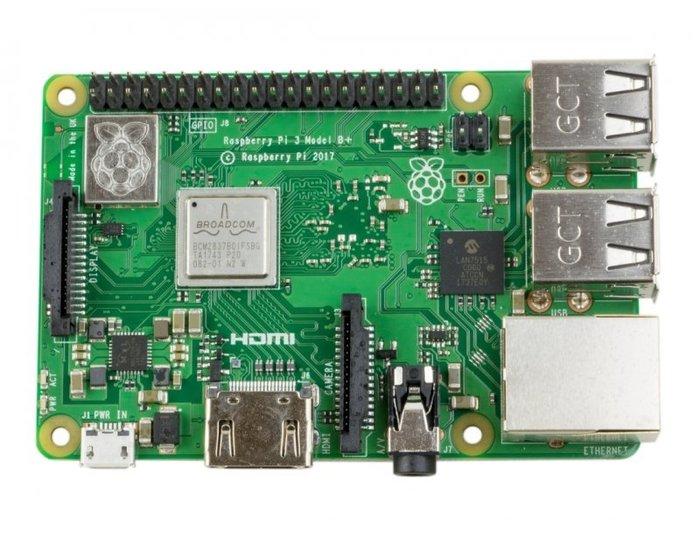 【莓亞科技】2018 全新 英國製 樹莓派 Raspberry Pi 3 Model B+ (含稅現貨NT$1388)