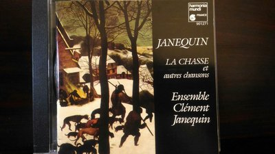 Ensemble Clement Janequin,Clement Janequin-La Chasse等,克萊門特雅內坎-狩獵,鳥之頌等二張歌曲專輯,