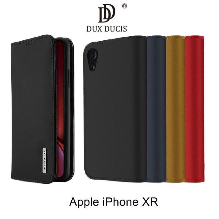 *phone寶*DUX DUCIS Apple iPhone XR/XsMax WISH 真皮皮套 插卡 可站立 保護套