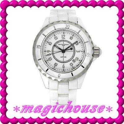 *夢幻精品屋*【衝評價↘1450】范倫鐵諾《高精密全陶瓷J12款式女錶》白-現貨搶購中!