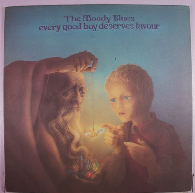 《二手美版黑膠》The Moody Blues - Every Good Boy Deserves Favour