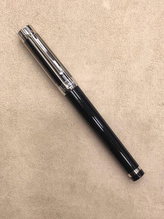Cartier筆 卡地亞 pasha 黑直紋黑杆鋼筆