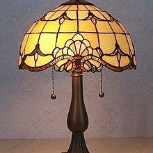 【美學】歐式蒂凡尼巴洛克睡房旅館賓館旅店出租房蒂帝凡尼檯燈(小號)MX_1632
