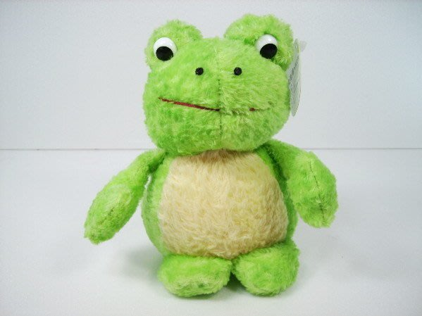 麥物堂珍藏公仔娃娃~全新『綠青蛙』*最佳禮物