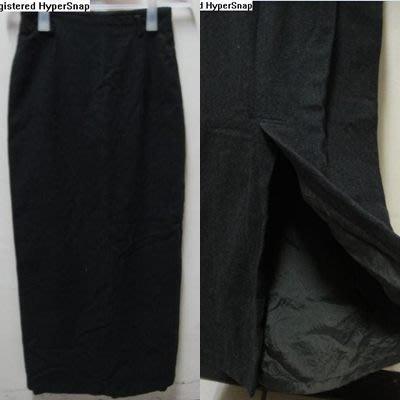 日本[IENA] 女款 羊毛 長裙-鐵灰色(M).50%小羊毛+10%開西米山羊毛.有全長內裡.版型很挺.原價3280