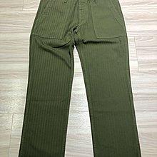 Visvim 19ss hw DRILL MIL PANTS(HERRINGBONE) green 3號 全新全配