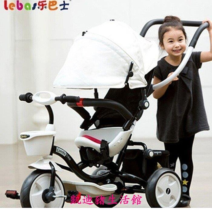 【凱迪豬生活館】韓國兒童三輪車腳踏車小孩嬰幼兒多功能寶寶手推車嬰幼兒童自行車KTZ-201066