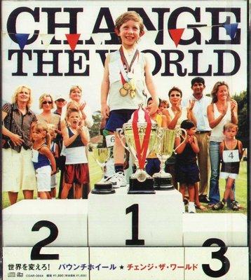 K - PAUNCH WHEEL - Change The World - 日版 - NEW