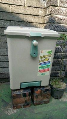 台中[潔特]廚餘機--全新手動  生物廚餘機很適合台灣氣候培養木黴菌吃廚餘製造有機肥(日本製 造型塑膠 )B55