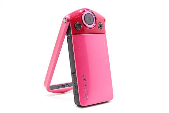【台南橙市3C】CASIO TR-15 TR15 桃紅 美肌相機 自拍神器 #15561