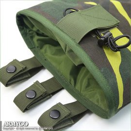 【ARMYGO】國軍迷彩彈匣回收袋