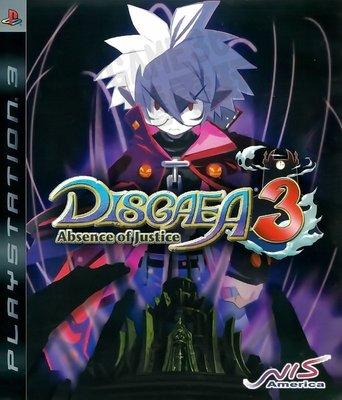 【二手遊戲】PS3 魔界戰記3 DISGAEA 3 ABSENCE OF JUSTICE 英文版【台中恐龍電玩】