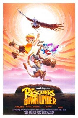 救難小英雄澳洲歷險記-The Rescuers Down Under (1990)原版電影海報