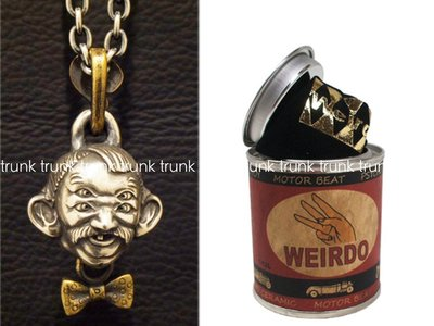 WEIRDO JEWELRY-4EYEDOO-TOP SILVER 925 × BRASS 四眼人吊飾 全新現貨