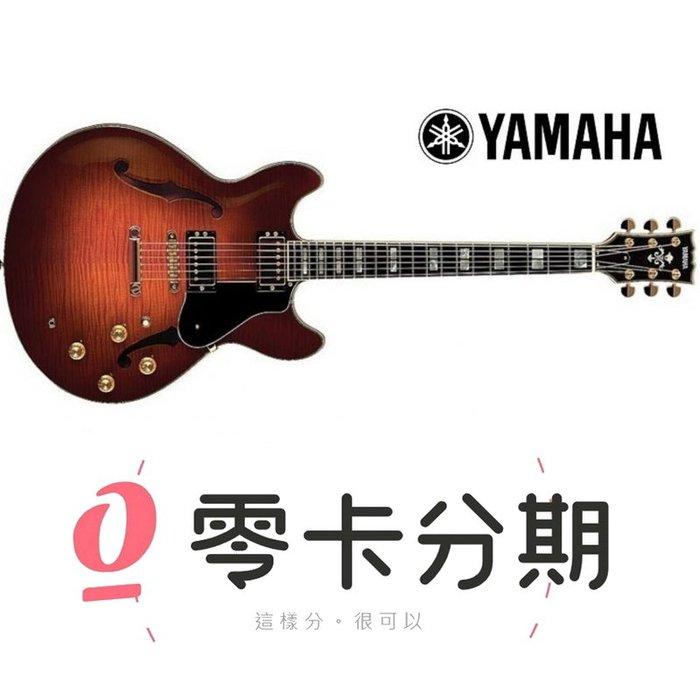 ☆唐尼樂器︵☆歡迎零卡分期 Yamaha SA2200 半空心 爵士吉他 提琴漸層色