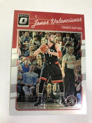 Jonas Valanciunas Donruss Optic 2016-17 #107 Toronto Raptors
