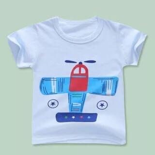 ✿荳荳小舖✿ 現貨⚽ 純棉 飛機短袖T恤