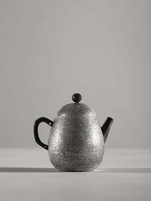 易闌坊 純銀S9999龍蛋銀壺小號泡茶壺日本銀器純手工家用純銀壺lyt-164