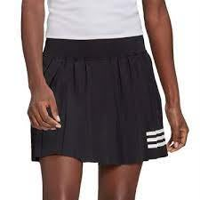 FOCA adidas CLUB PLEA TSKIRT 愛迪達女生 黑色 黑白 褲裙 GL5468 網球裙
