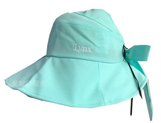 藍鯨高爾夫 LYNX 2019春夏新款/遮陽女帽(蒂芬妮綠/粉紅)二色#1899A12