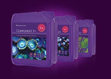 ◎ 水族之森 ◎ 波蘭 Aquaforest ® Component 1+ 2+ 3+ (Ca/KH/Mg ) 3X5L