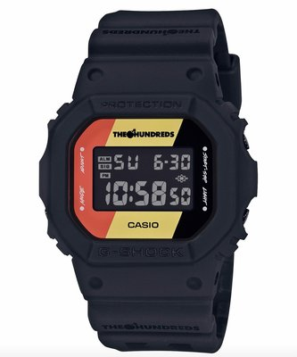 CASIO G-SHOCK x THE HUNDREDS 35TH DW-5600HDR-1DR