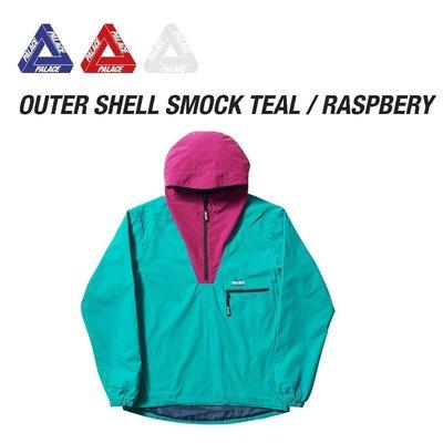 現貨 Palace Outer Shell Smock 衝鋒外套 17FW 秋冬 最新 限量 M號 歐洲 supreme