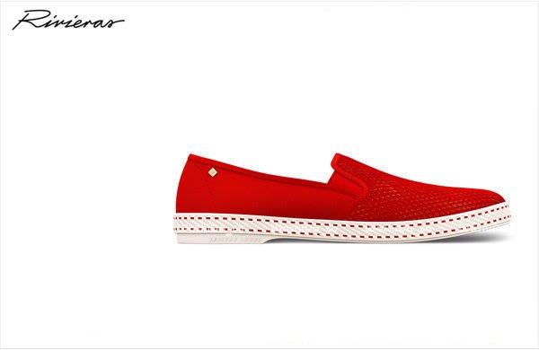 WaShiDa【法國品牌 Rivieras Classic 20° ROUGE 經典紅 懶人鞋 現貨 2003 SALE