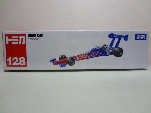 TOMICA 128 DRAG CAR (紅) /合金車/TAKARA TOMY/TM128 (A款)