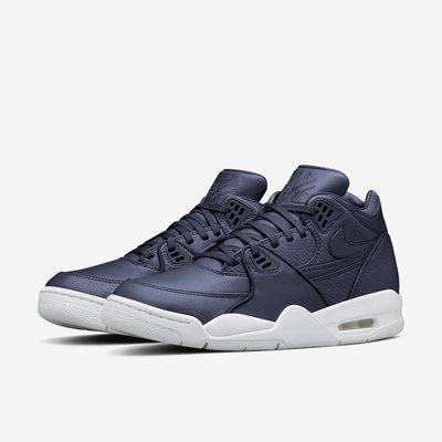 =CodE= NIKE AIR FLIGHT 89 荔枝皮革籃球鞋(藍白).828295-400.JORDAN.男.預購